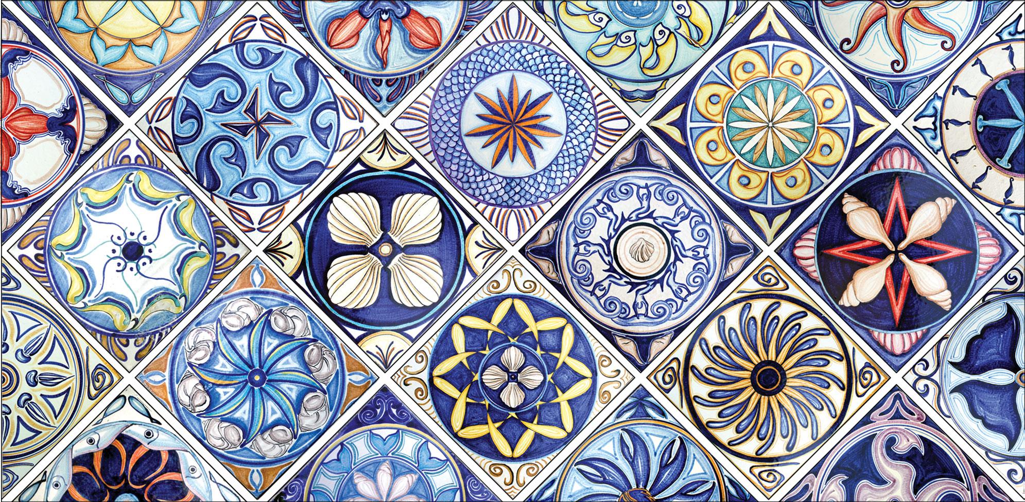 Le ceramiche di santo stefano di camastra luoghi e attrazioni scopri la sicilia hitsicily - Santo stefano di camastra piastrelle ...