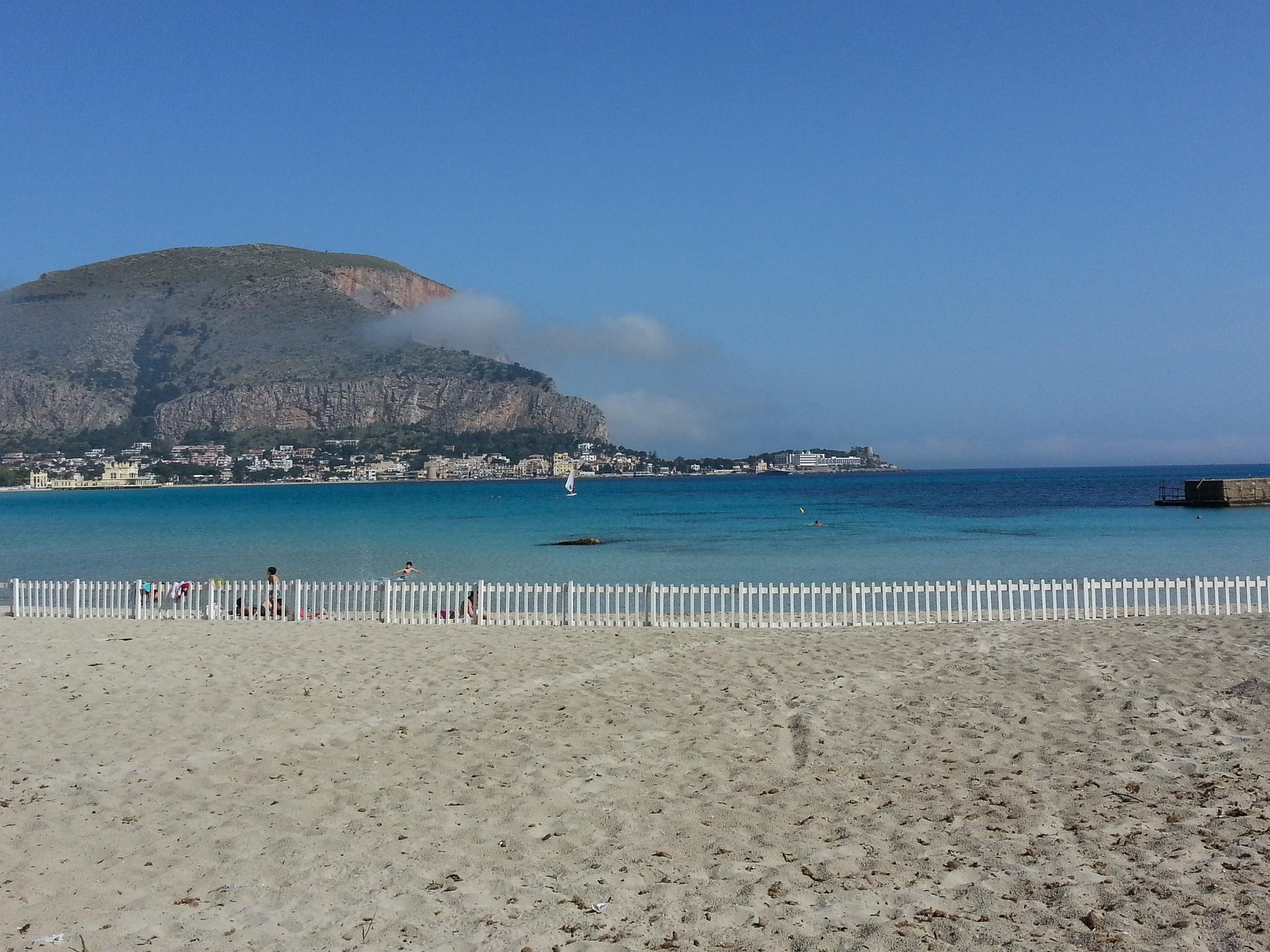 Mondello The Seaside Village And The Beach Of Palermo