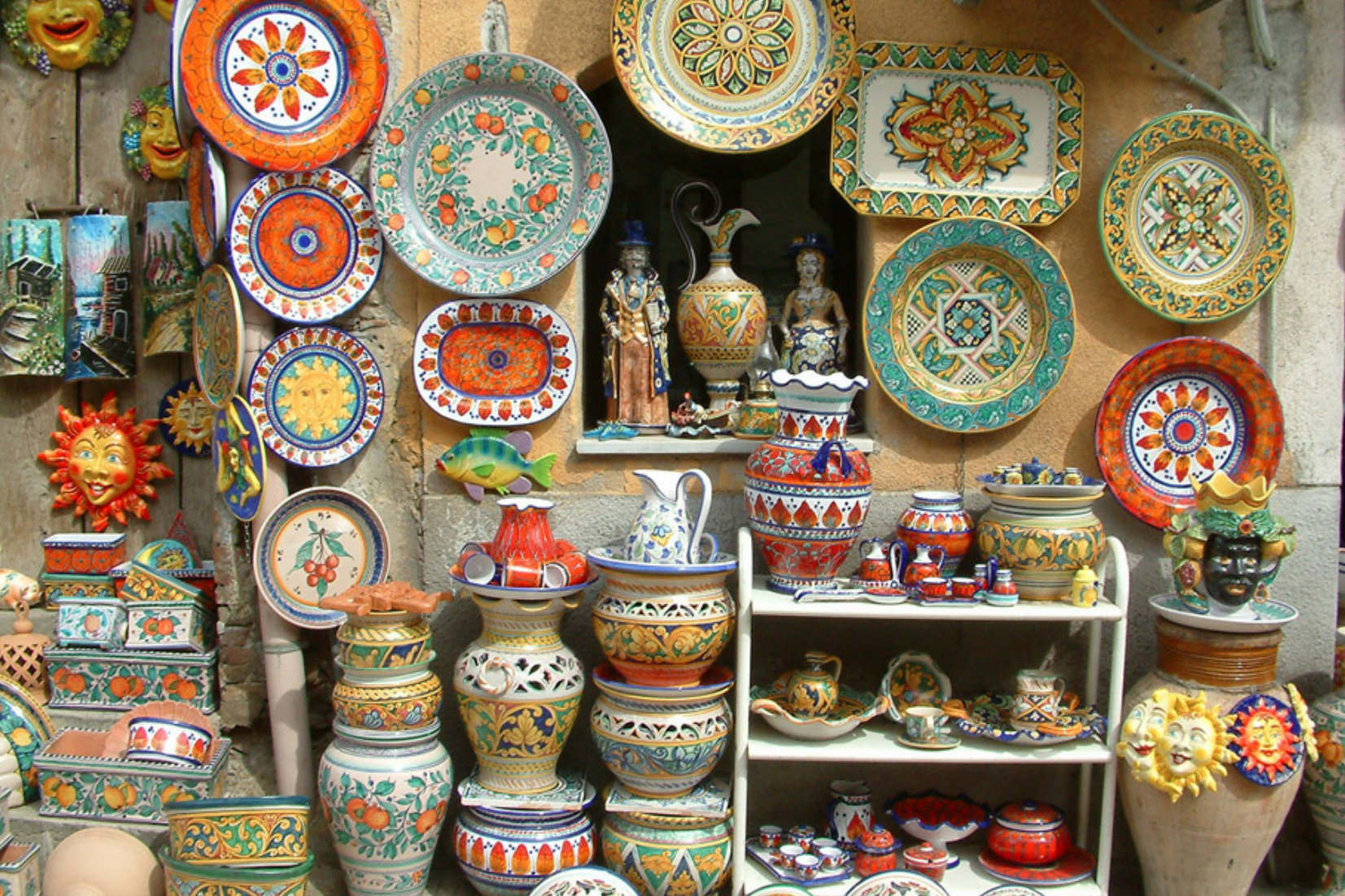 Le ceramiche di santo stefano di camastra luoghi e attrazioni