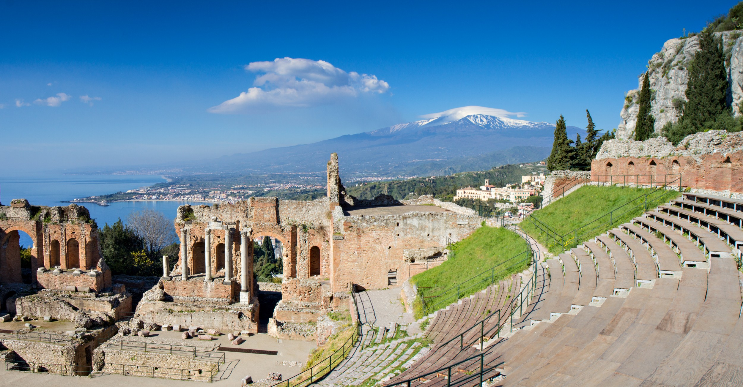 Taormina in Sizilien, ein Urlaub am Mittelmeer