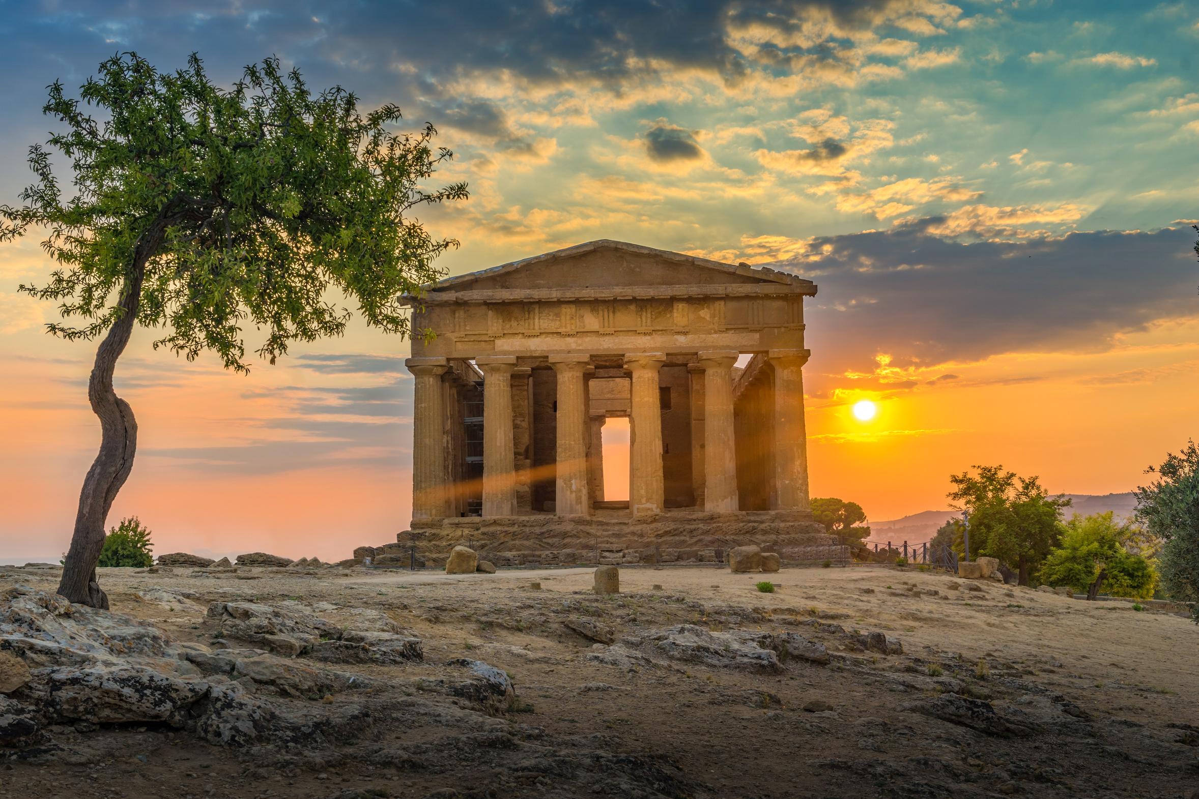 Das Tal der Tempel von Agrigent - Die wichtigsten archäologischen ...